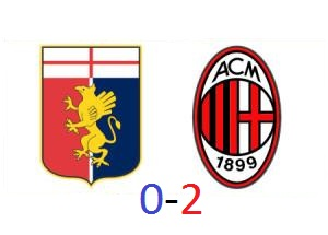 Genoa-Milan 0-2: le pagelle semiserie rossonere