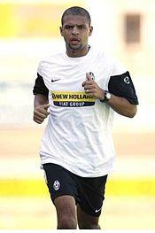 Felipe Melo mentre finge di correre