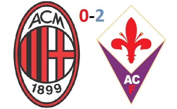 Milan-Fiorentina 0-2: le pagelle semiserie dei rossoneri