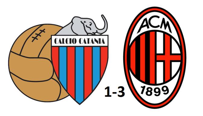 Catania-Milan 1-3: le pagelle semiserie dei rossoneri
