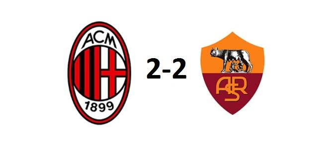 Milan-Roma 2-2: le pagelle semiserie dei rossoneri