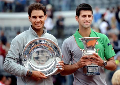 Djokovic batte Nadal e conquista Roma