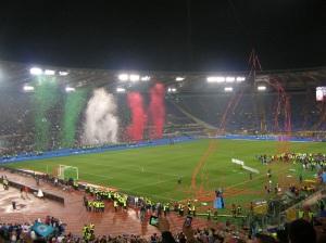 L'Olimpico di Roma in una delle ultime finali di Coppa Italia (foto di Paskwiki, wikimedia, creative commons)