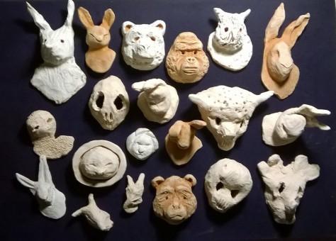 sculture e foto di Margherita Cambi